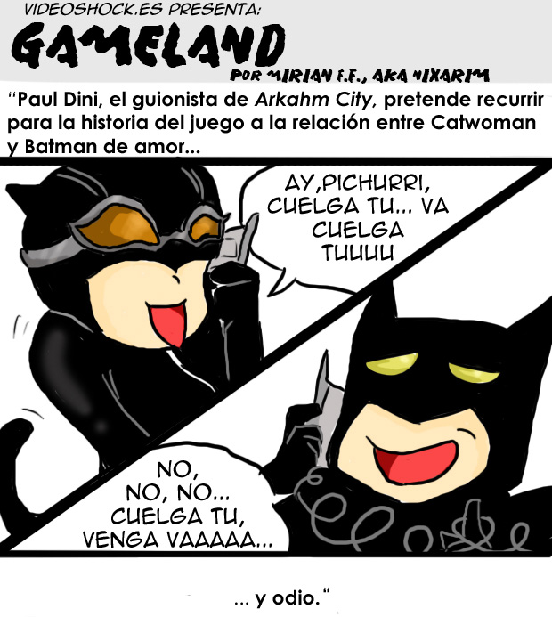 Gameland – 9, Catwoman y Batman, 1